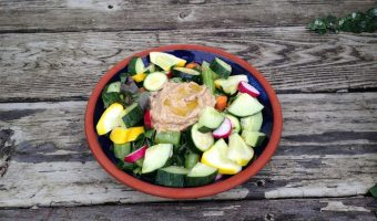 Early July Market Salad