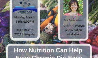 Holistic Nutrition to Ease Chronic Dis-Ease